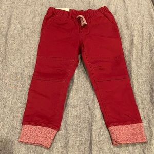 Cat & Jack Red Jogger Pants